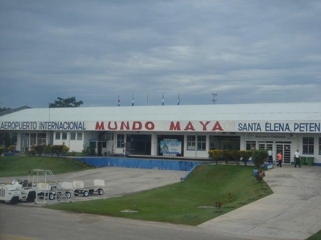 Vuelos a Peten Aeropuerto Internacional Mundo Maya