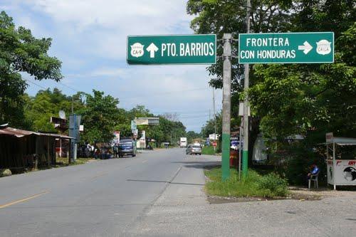 Vuelos a Puerto Barrios cruce a Puerto Barrios