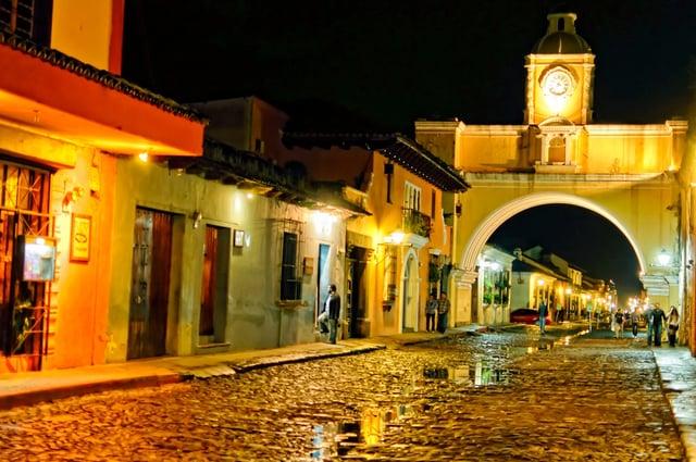 Vuelos a Guatemala Antigua