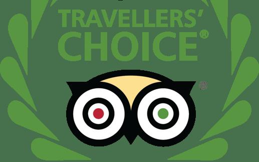 Vuelos a Roatán, Travelers Choice.png