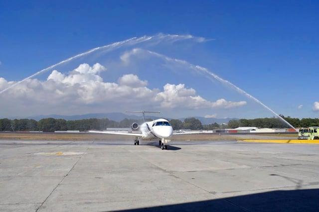 Vuelos a Belice, Nuevo Embraer.jpg