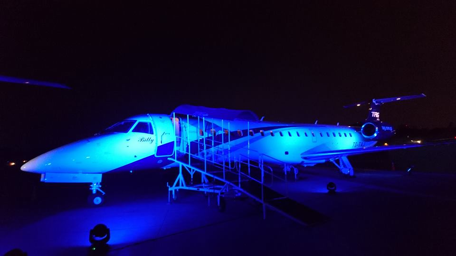 Vuelos a Belice, Presentación de Embraer.jpg