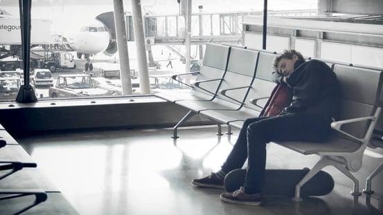Vuelos a Belice, Esperando vuelo en navidad.jpg