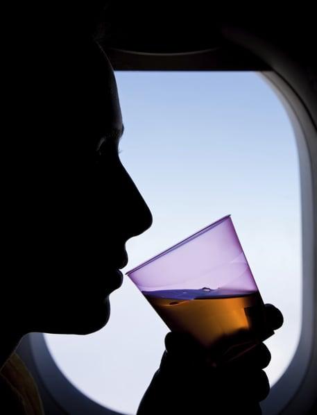 Vuelos a Belice, Excesos en el avión.jpg