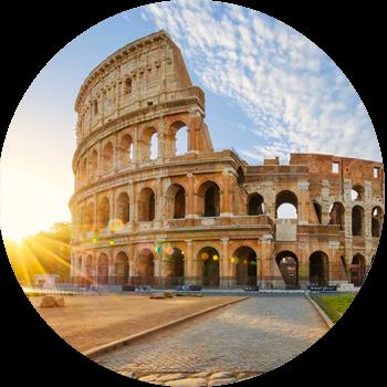 Disfruta las obras de arte emblemáticas de la bella ciudad de Roma