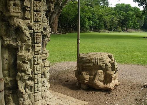 Vuelos a Roatan, Ruinas mayas en honduras