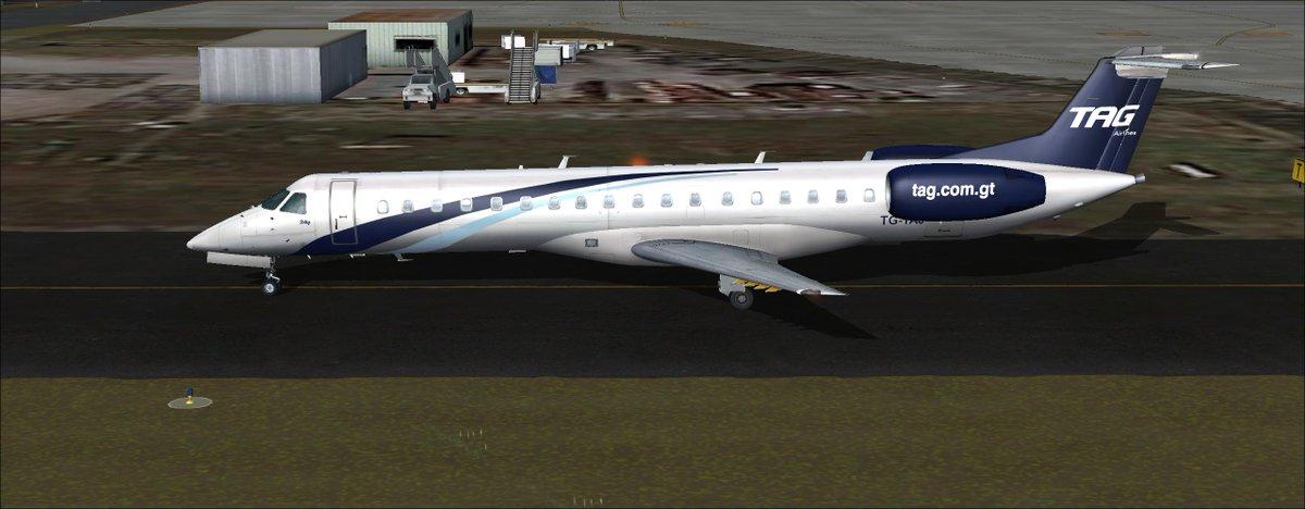 Vuelos a Honduras, Embraer 145
