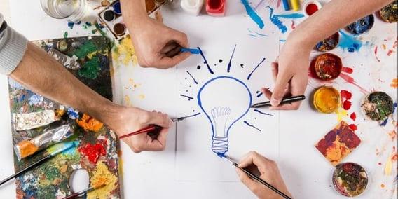 Vuelos a Madrid, aumentar la creatividad